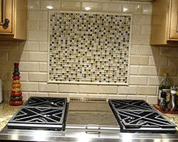 Backsplash Project by Abbey Capitol Floors & Interiors