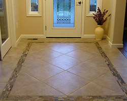 Entry Flooring Project by Abbey Capitol Floors & Interiors