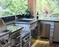 Outdoor Kitchen Project by Abbey Capitol Floors & Interiors