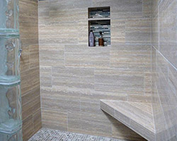 Shower Project by Abbey Capitol Floors & Interiors